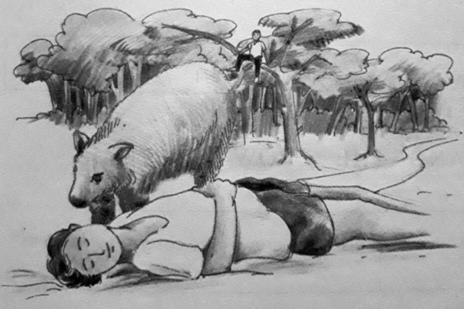 Moral Story for Kids in English: Two Friends & Bear